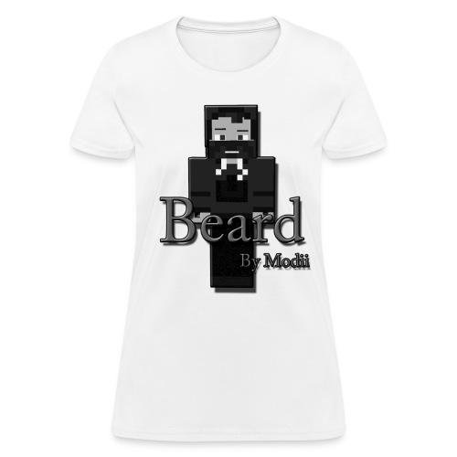 Women's Beard by Modii T-Shirt - Women's T-Shirt