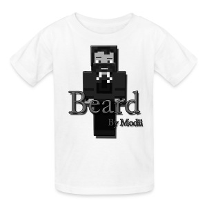 Kid's Beard by Modii T-Shirt - Kids' T-Shirt