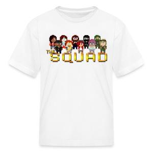Kid's 8-Bit Squad T-Shirt - Kids' T-Shirt