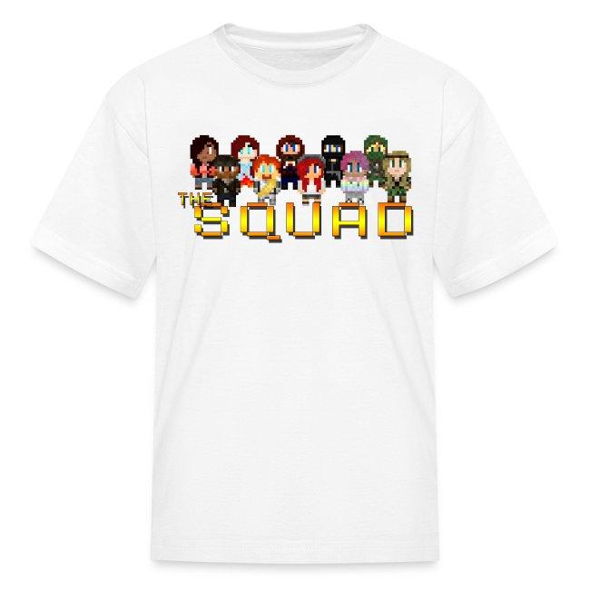 Kid's 8-Bit Squad T-Shirt