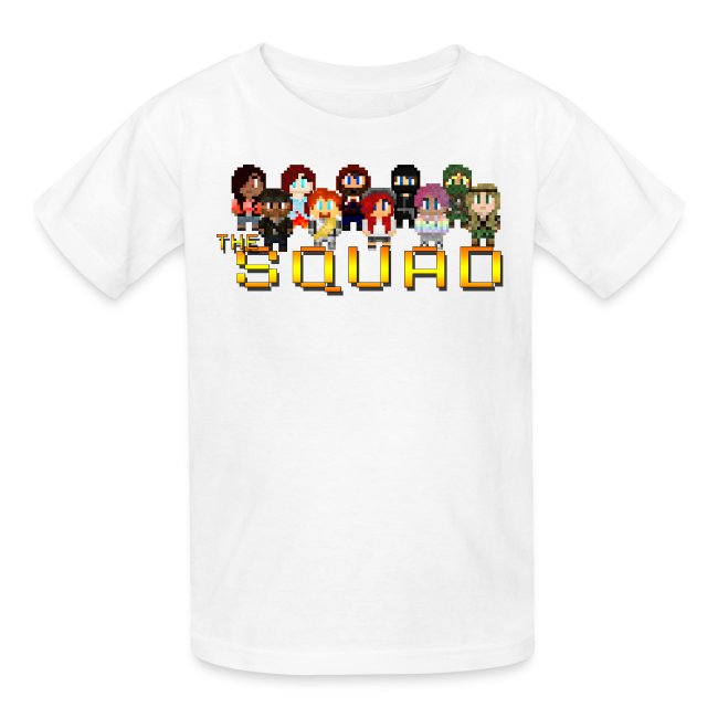 Kid's 8-Bit Squad T-Shirt