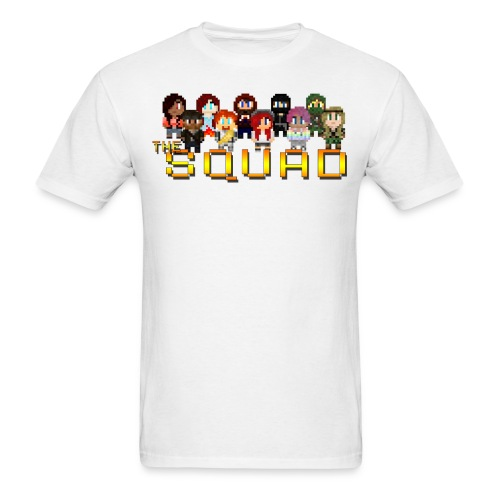 Men's 8-Bit Squad T-Shirt - Men's T-Shirt