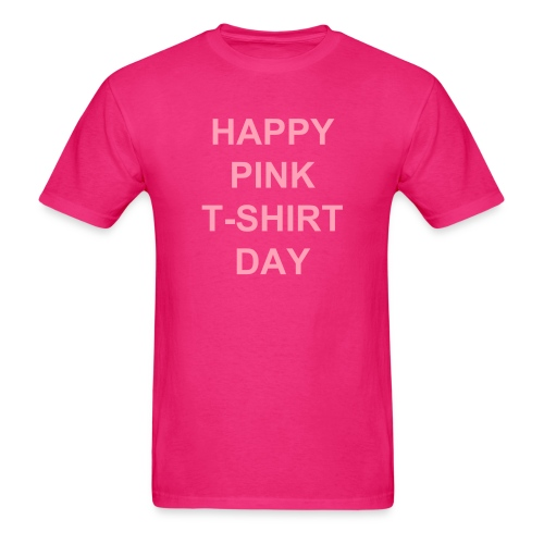 Pink T-Shirt Day - Men's T-Shirt