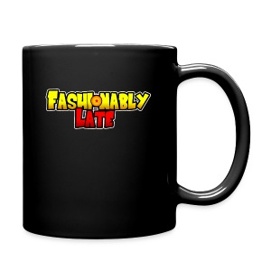 Fashionably Late Logo Mug (Side) - Full Color Mug