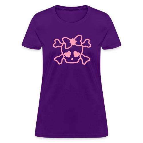 Cute Skull - Women's T-Shirt