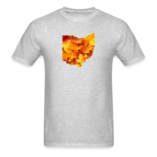 Fall in Ohio - Men's T-Shirt
