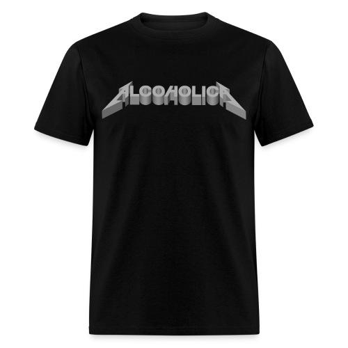 AlcoholicA T-shirt - Men's T-Shirt