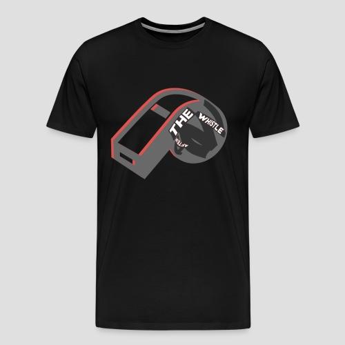 ATW Chicago Mens Shirt - Black/Red/White Whistle ALL COLORS - Men's Premium T-Shirt