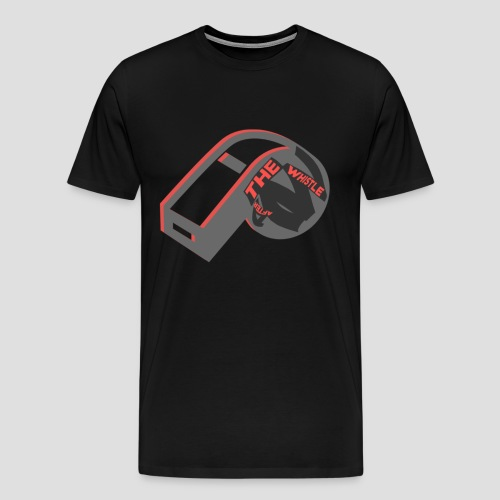 ATW Chicago Mens Shirt - Black/Red Whistle ALL COLORS - Men's Premium T-Shirt