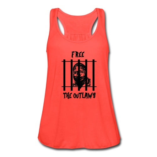 Free the Outlaws - Women's Flowy Tank Top by Bella