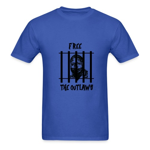 Free the Outlaws - Men's T-Shirt