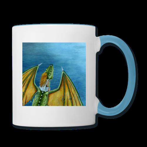 Tasse «Le Goût de l'Eau» - Contrast Coffee Mug