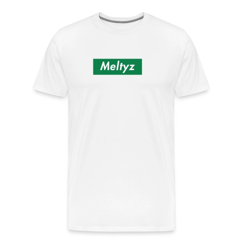 Meltyz Supreme Box Logo - Men's Premium T-Shirt