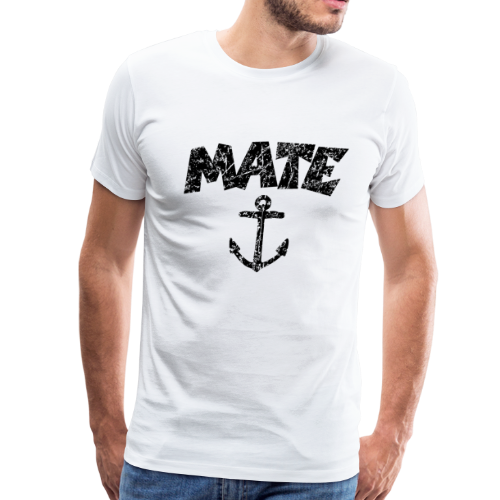 Mate Anchor Sailing Design (Distressed Black)