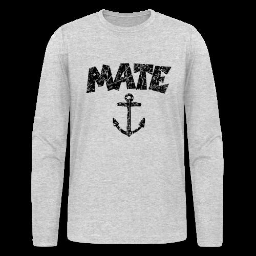 Mate Anchor Sailing Longsleeve - Men's Long Sleeve T-Shirt by Next Level
