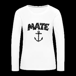 Mate Anchor Sailing Design (Distressed Black)