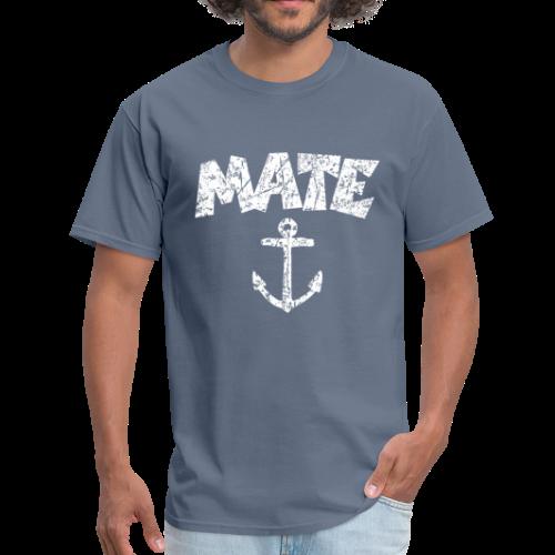 Mate Anchor Sailing T-Shirt (Distressed White) - Men's T-Shirt
