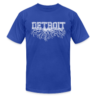 T-Shirts ~ Men's T-Shirt by American Apparel ~ My Detroit Roots