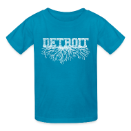Kids' Shirts ~ Kids' T-Shirt ~ My Detroit Roots