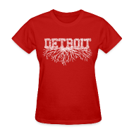 T-Shirts ~ Women's T-Shirt ~ My Detroit Roots