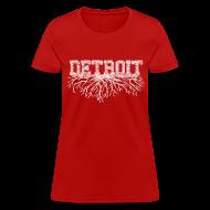 Women's T-Shirts ~ Women's T-Shirt ~ My Detroit Roots