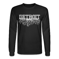 Long Sleeve Shirts ~ Men's Long Sleeve T-Shirt ~ My Detroit Roots
