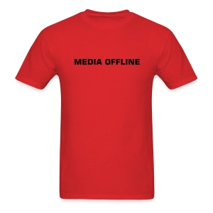 Media Offline FCP Version - Men's T-Shirt