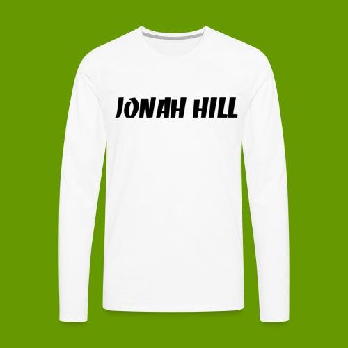 J0nah Hill White Longsleeve  - Men's Premium Long Sleeve T-Shirt