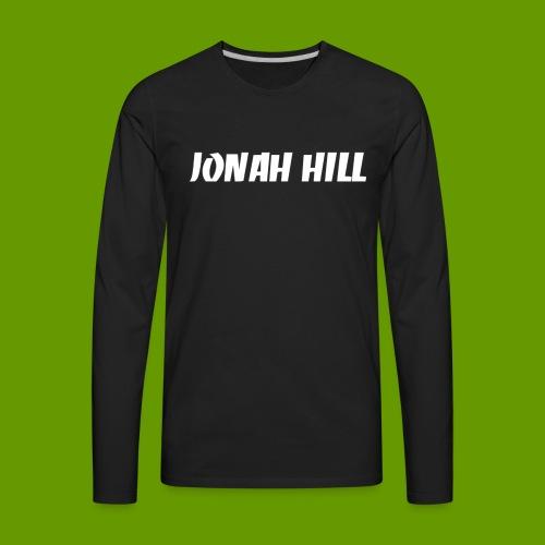 J0nah Hill Black Longsleeve Shirt - Men's Premium Long Sleeve T-Shirt