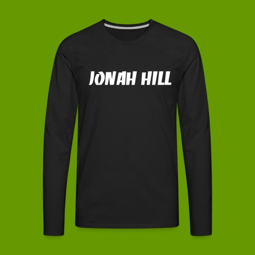 J0nah Hill Black Longsleeve Shirt - Men's Premium Long Sleeve T-Shirt