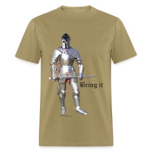 Plate Armor Bring it men's standard T - Men's T-Shirt