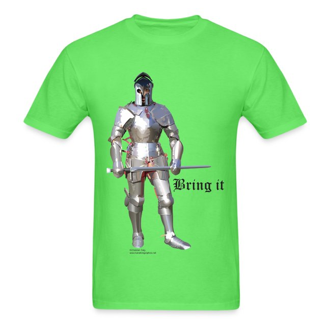 Plate Armor Bring it men's standard T