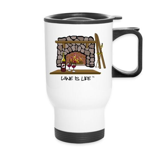 Skiing - Travel Mug