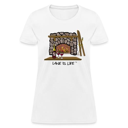 Skiing - Women's T-Shirt