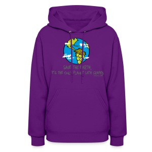 Save the Earth - Women's Hoodie