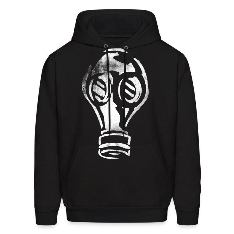 Gas mask hoodie