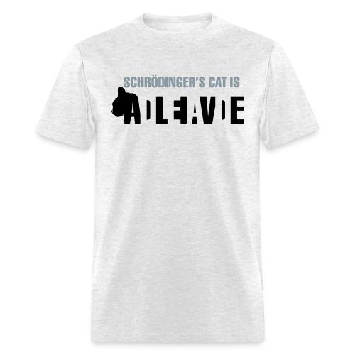 Schrödinger's cat - Normal T - Men's T-Shirt