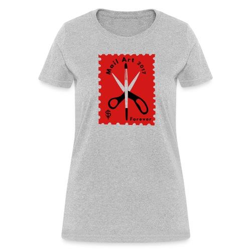 Mail Art Forever 2017 - Women's T-Shirt