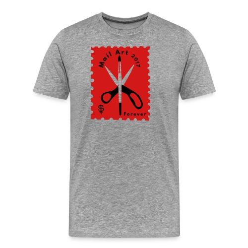 Mail Art Forever 2017 - Men's Premium T-Shirt