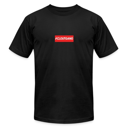 #cloutgang Supreme Style T-shirt - Men's Fine Jersey T-Shirt
