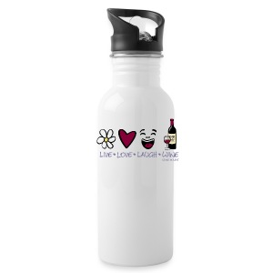 Live, Love, Laugh - Water Bottle - Water Bottle