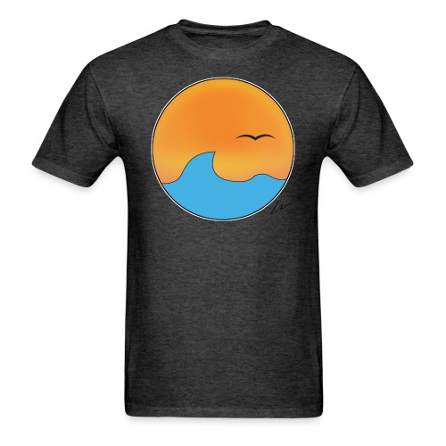 Sunset  - Men's T-Shirt