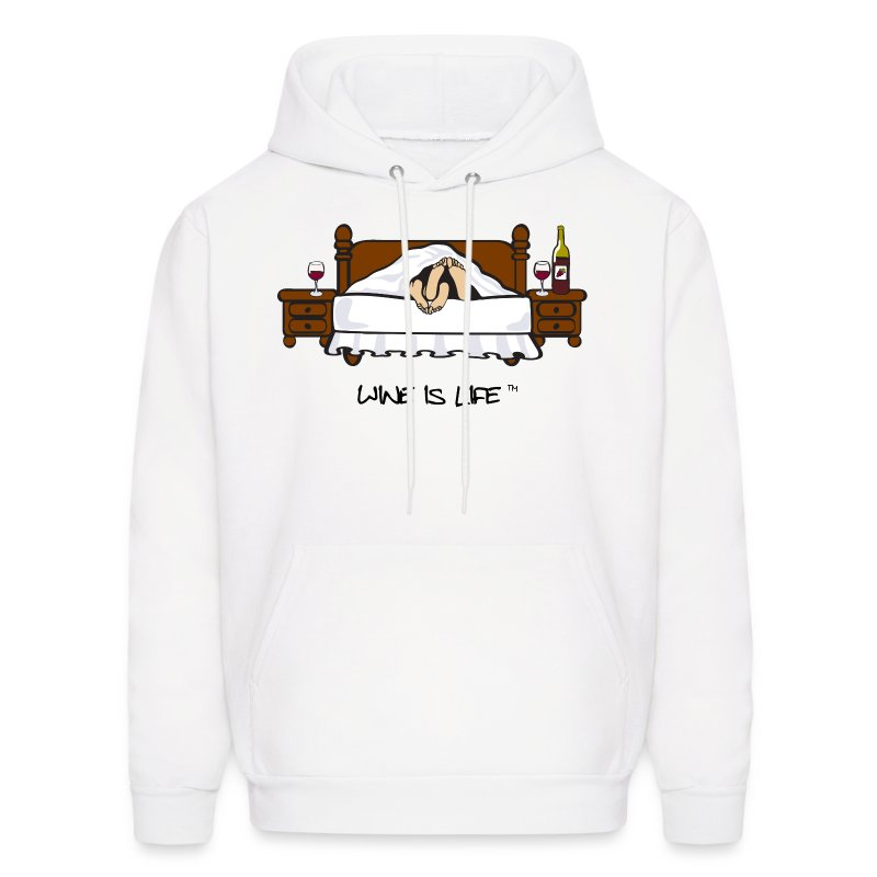 Wine is Life - Men's Hoodie