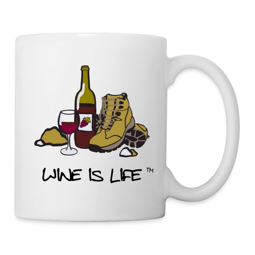 Wine is Life Hiking - Coffee Mug - Coffee/Tea Mug