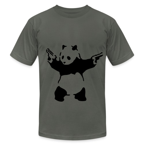 Shooting Panda - Men's Fine Jersey T-Shirt