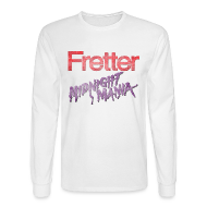 Long Sleeve Shirts ~ Men's Long Sleeve T-Shirt ~ Fretter Midnight Mania