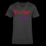 T-Shirts ~ Men's V-Neck T-Shirt by Canvas ~ Fretter Midnight Mania