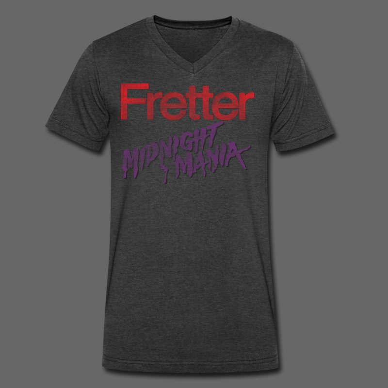 Fretter Midnight Mania - Men's V-Neck T-Shirt by Canvas