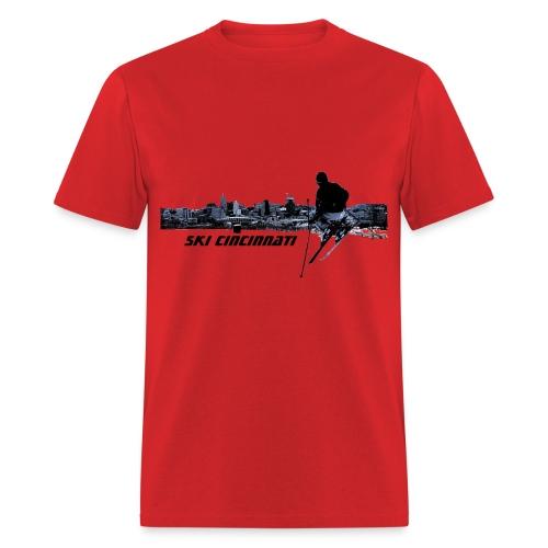 Ski Cincinnati 2 Men's T - Men's T-Shirt