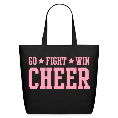 Cheer Tote Bag - Eco-Friendly Cotton Tote